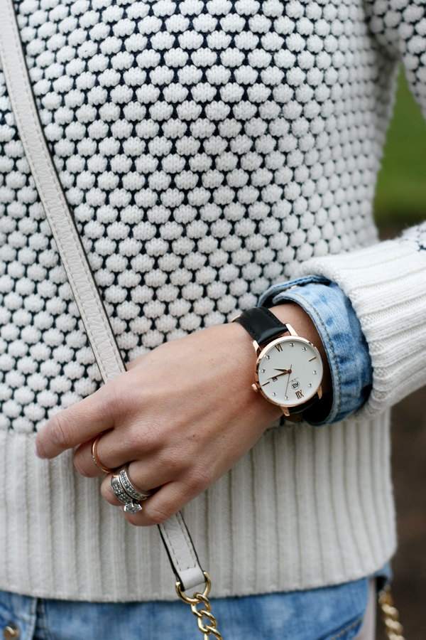 Winter whites aibi watch review the minted mama for Winter watches