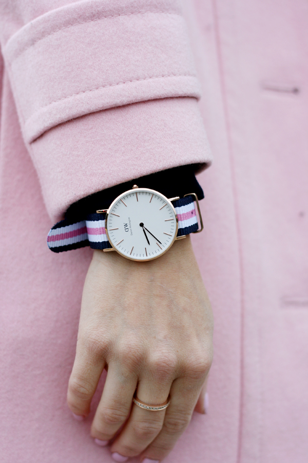 in the pink with daniel wellington the minted mama. Black Bedroom Furniture Sets. Home Design Ideas