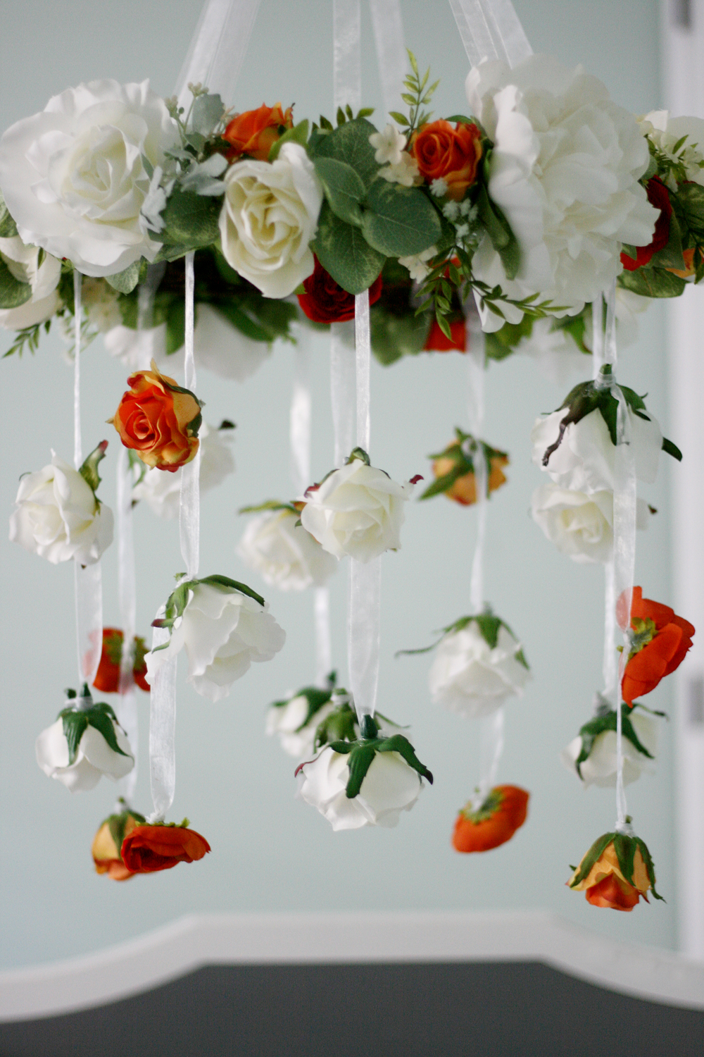 crowning glory floral chandelier