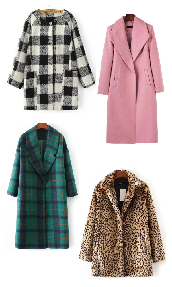SheIn affordable coats