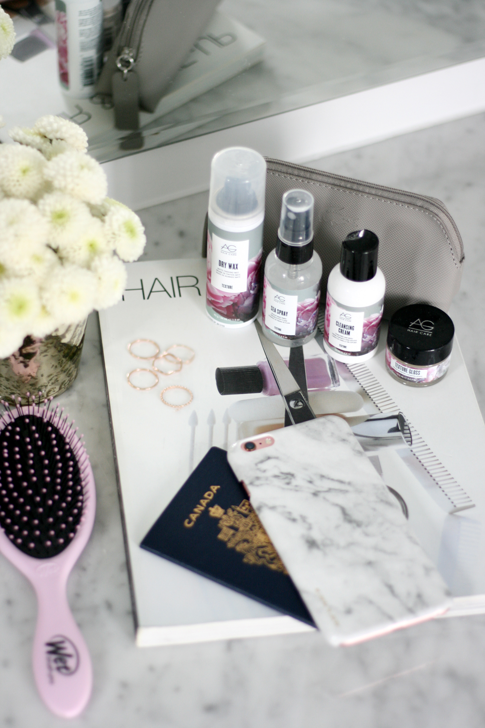 travel haircare