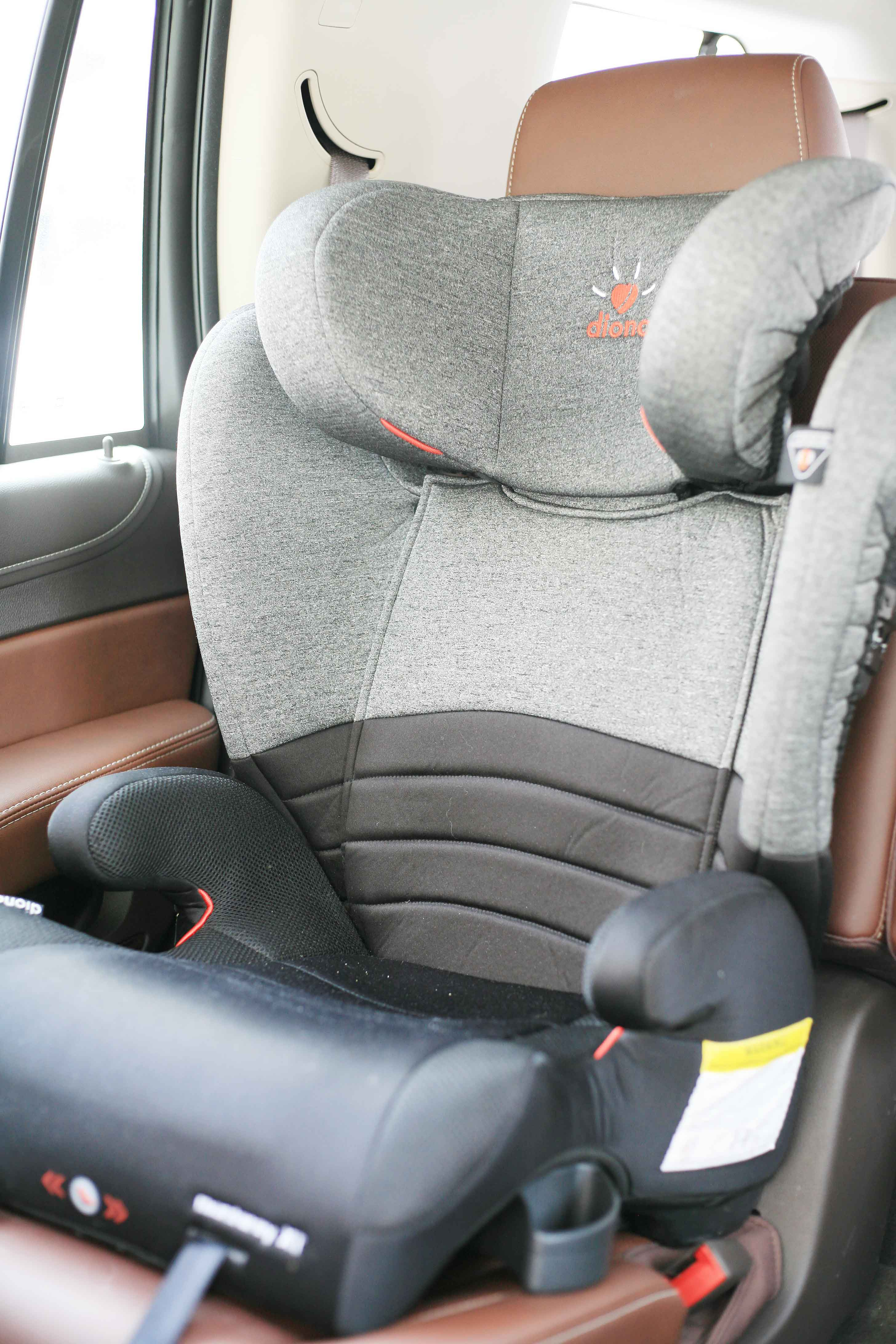 Diono Monterey Xt High Back Booster Car Seat Review